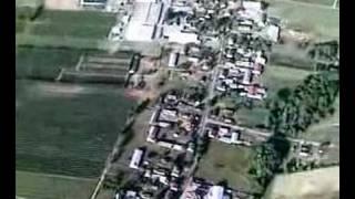 Lot nad  Nowosielcem (pieczarkarnie)