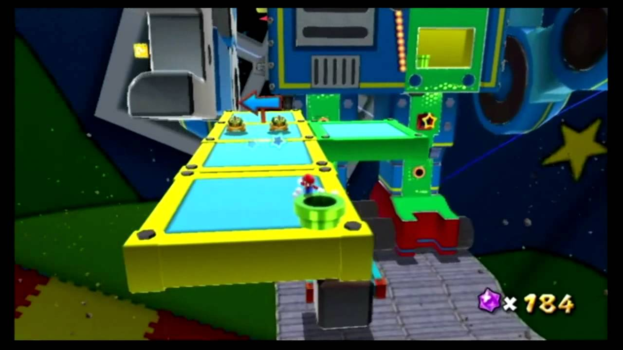 Let\'s Play Super Mario Galaxy 19 - Zurück ins Kinderzimmer ! - YouTube