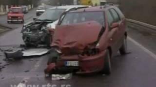 Požarevac: U saobraćajki poginula beba, šest lica povređeno