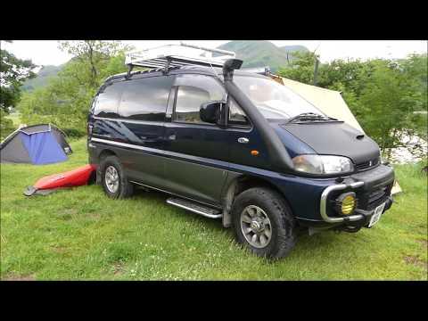 Mitsubishi Delica Campervan Conversion Van Tour