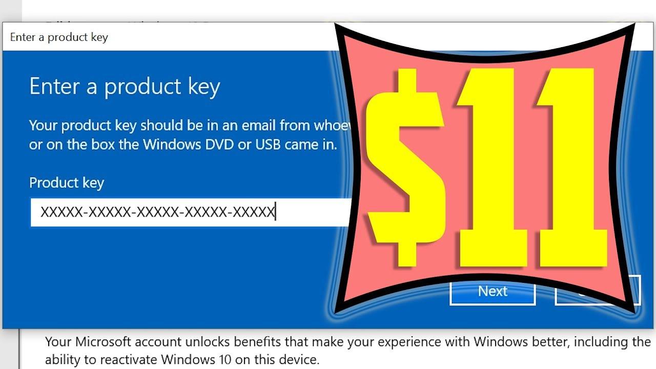Genuine Windows Pro 10 Key For Just $11! Global Version ...