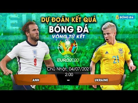 SOI KÈO, NHẬN ĐỊNH BÓNG ĐÁ HÔM NAY ANH VS UKRAINE 2h, 4/7/2021 - EURO 2020