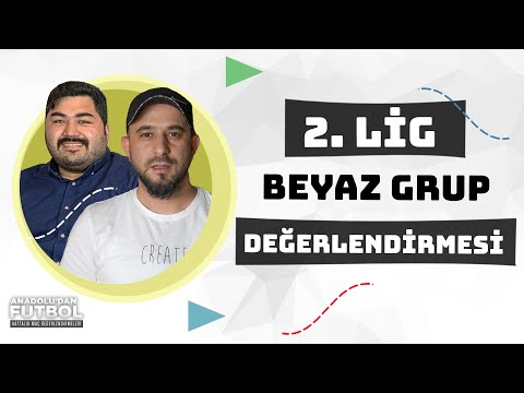 TFF 2. Lig Beyaz Grup Değerlendirmesi, PlayOff Yarışı ve Kümede Kalma Savaşı   TransferMerkez TV