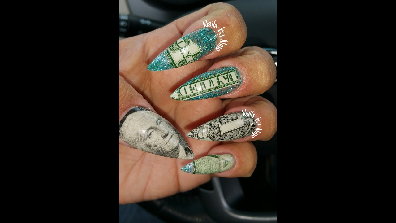 Money nails youtube money nails prinsesfo Images