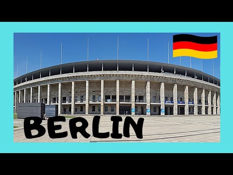 The very historic 1936 Olympic Stadium, Berlin (Germany)