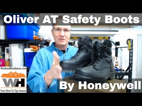 Oliver AT 45 Series Safety Work Boots From Honeywell | Weekend Handyman