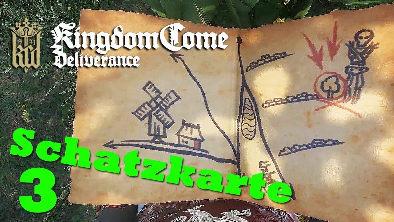 Kingdom Come Deliverance Uralte Karte 2.Uralte Karte 3 Kingdom Come Deliverance Schatzkarte Ger 21 9