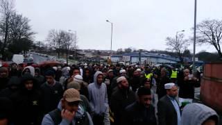 Bradford Annual Milad Jaloos Procession - Al Jamia Suffa Tul Islam 18/01/2015