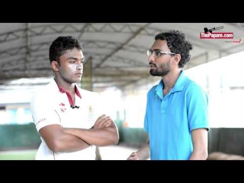 Wenuka Galahitiyawa - Dharmaraja College 1st XI Cricket Captain