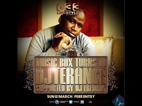 @033Lifestyle Presents Music Box 10 year celebration feat: DJ Terance