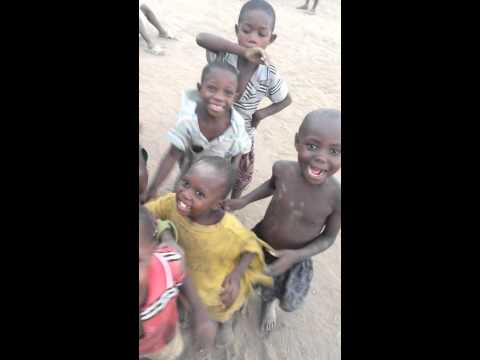 Uganda Africa- kids seeing themselves for the first time on my phone!