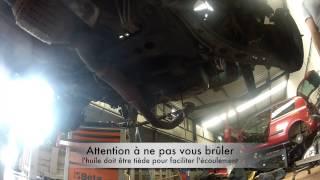 Fiat Punto 55 : Comment vidange l'huile moteur