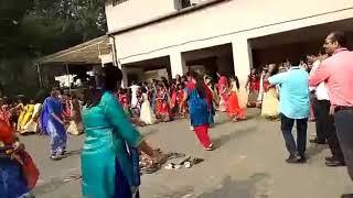 Garbha dance in our school