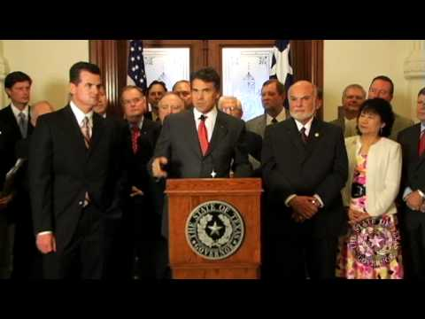 Gov. Perry Backs Resolution Affirming Texas Sovereignty Under 10th Amendment - Part 2