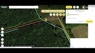 Народная карта Яндекса - Видеоуроки - Разрезание сложных контуров