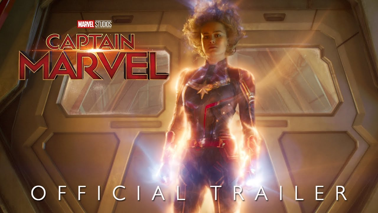 Marvel Studios Captain Marvel Trailer 2