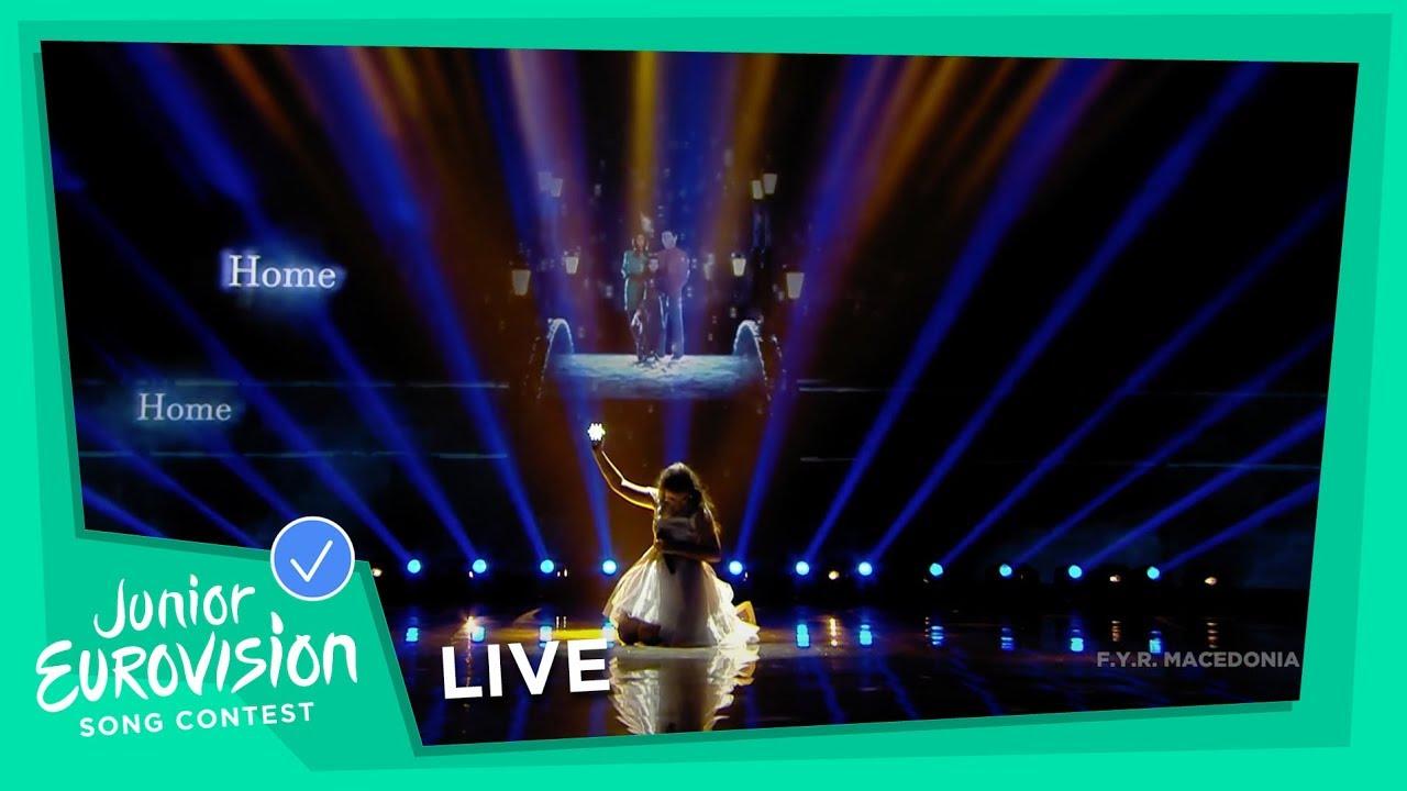 Настапот со кој Марија Спасовска нè претстави на Детска Евровизија 2018