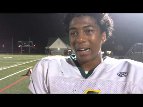 Doucet, Defense Lead Bruton Football Past Jamestown