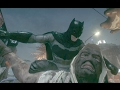 BATMAN ARKHAM KNIGHT 2017 gameplay (Free roam and combat)