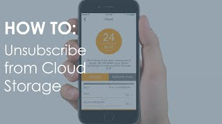 How to: Unsubscribe from Cloud Storage / ALLie 360 VR video camera