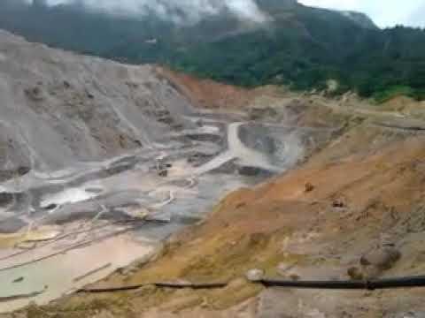 Bottom Pit, Phu Kham Operation, Phu Bia Mining, Laos