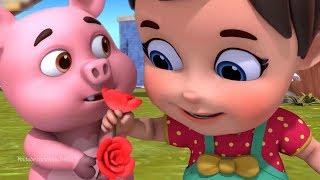 Ba Bà Đi Bán Lợn Con , Con Heo Đất, Một Con Vịt ♥ Nhạc Thiếu Nhi Một Con Vịt,Con Lợn Éc