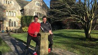 Brownlee Brothers visit YHA Hartington