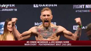 Conor McGregor - Best Moments at the Weigh