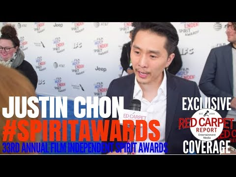 "Justin Chon ""Gook"" Director, Writer, Star interviewed at the 33rd Film Independent #SpiritAwards"