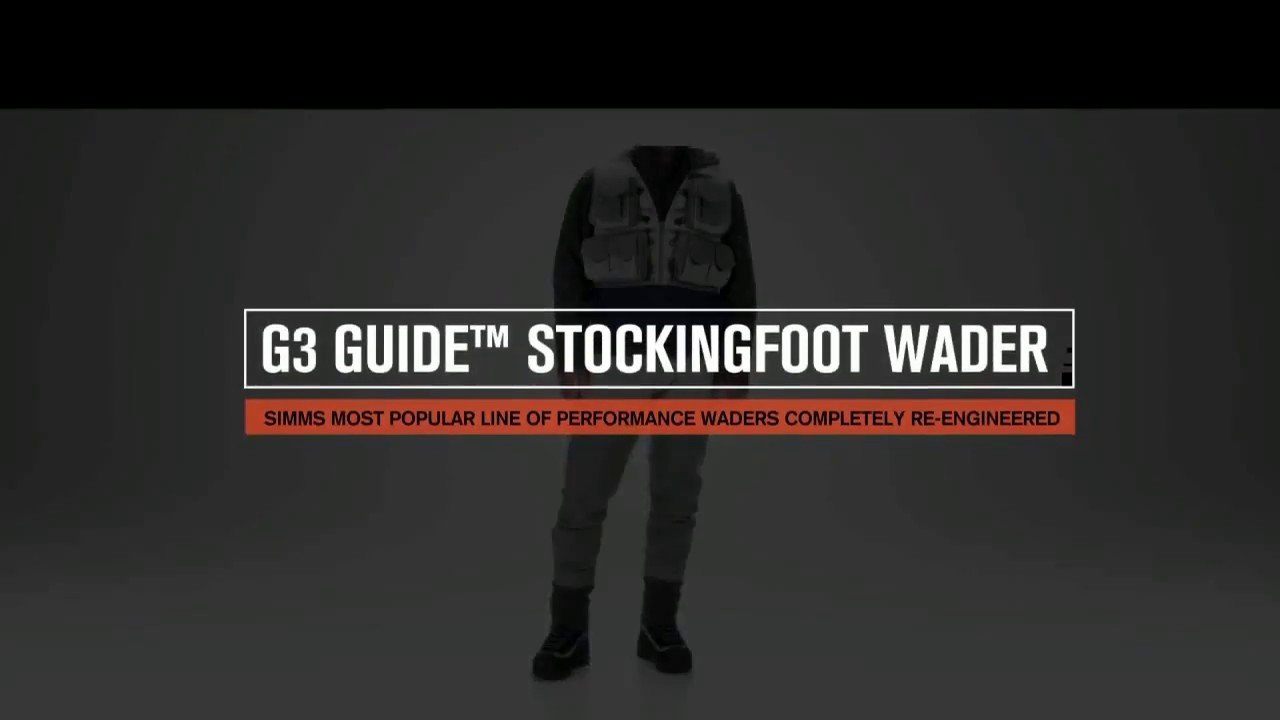 G3 Guide Stockingfoot Waders Simms Fishing Products