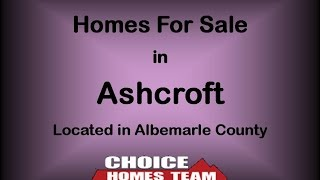 Ashcroft Homes For Sale in Albemarle County
