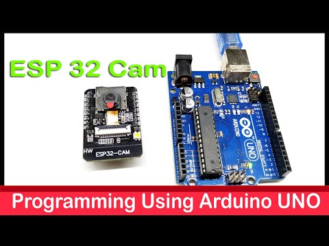 How To Program ESP-32 Cam Using Arduino UNO