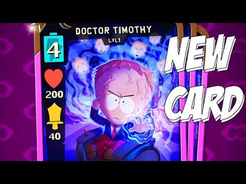 DOCTOR TIMOTHY NEW CARD! | EPIC REQUEST - South Park Phone Destroyer