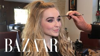 Gambar cover Sabrina Carpenter Shows Us How She Gets Ready for the American Music Awards | Harper's BAZAAR