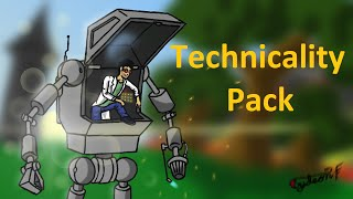 Technicality 3 Pack Lets Play Ep1 - Slow Beginnings