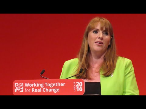 Angela Rayner's speech to Annual Conference 2016