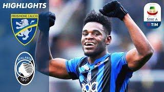 Frosinone 0-5 Atalanta | Zapata Scores Four Times in Thrashing | Serie A