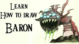 Learn How to Draw/Paint Baron - League of Legends