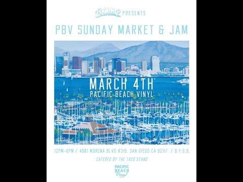 Pacific Beach Vinyl Sunday Market & Jam