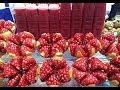 Street Food Pomegranate Juice 🥤❤️😊