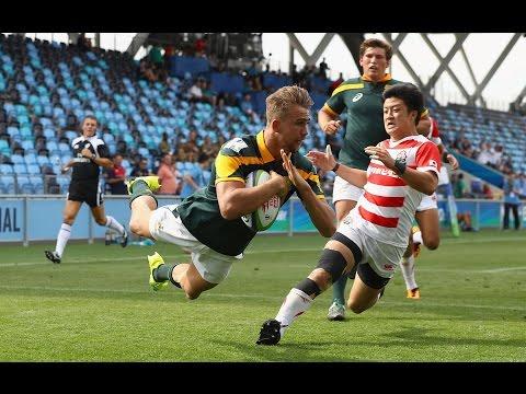 A future Springboks superstar? - South Africa U20 captain Jeremy Ward