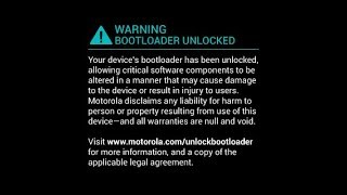 Como Quitar El Mensaje De Bootloader Desbloqueado en MOTO XPLAY