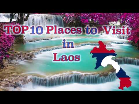 TOP 10 Places to visit in Laos.