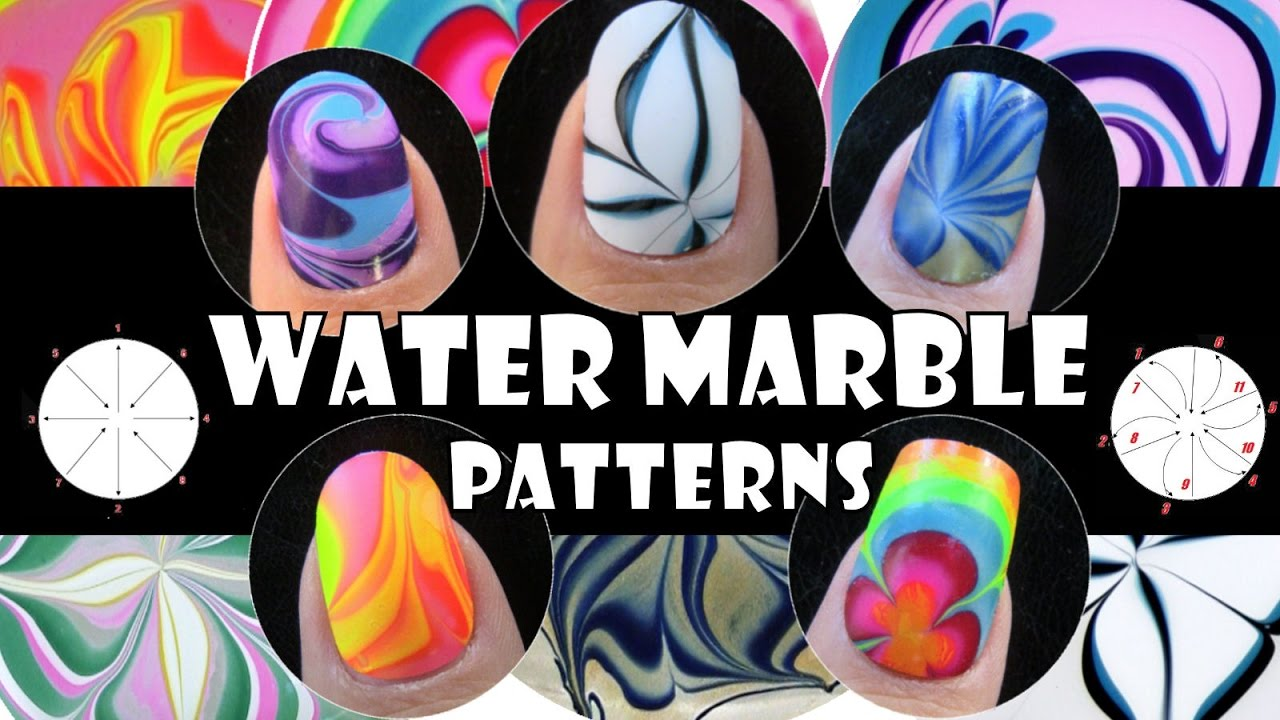Water marble patterns 1 how to basics nail art design water marble patterns 1 how to basics nail art design tutorial beginner easy simple youtube prinsesfo Gallery