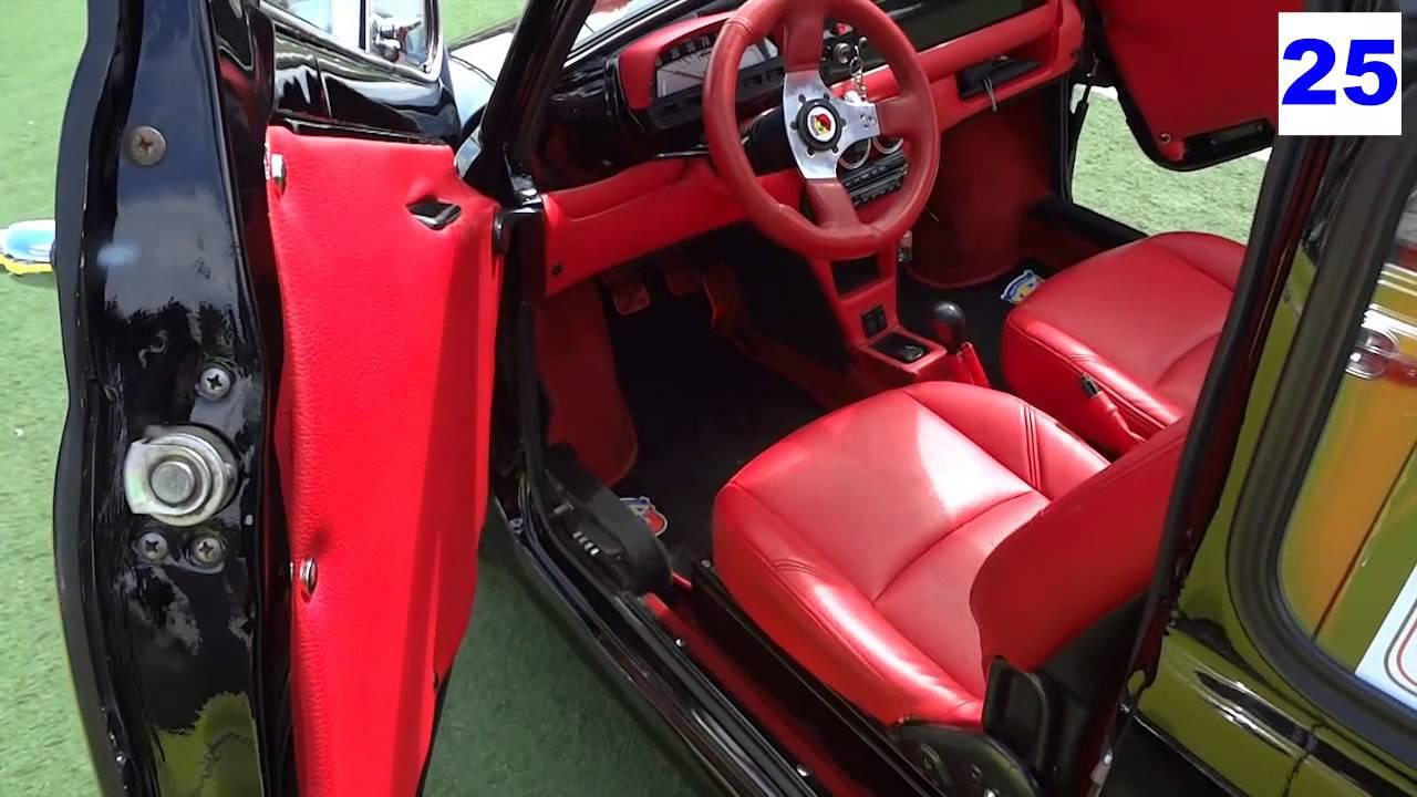 Fiat 500 Abarth Modificata  Tuning Auto Storica  YouTube
