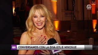 Kylie Minogue y su paso por Chile