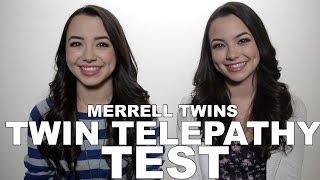 Twin Telepathy Test - Merrell Twins 2014