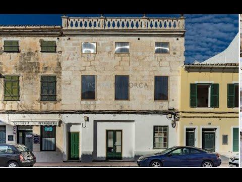 Casa con patio en el centro de Mahón, Menorca.