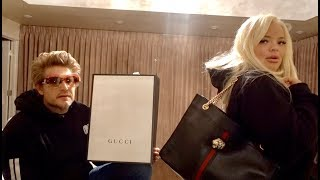 Opening Gucci Gifts with my Sugar Daddy!
