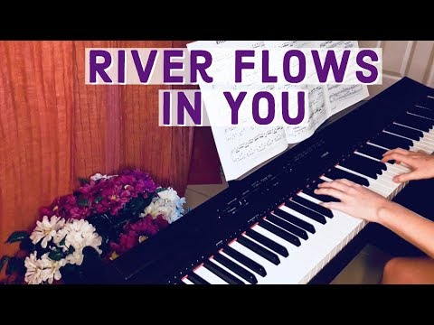 river flows in you piano cover - yiruma | beautiful relaxing music | phyleshaad